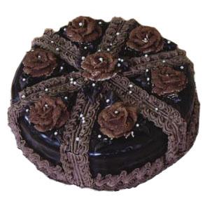 Black russian cake photo 2