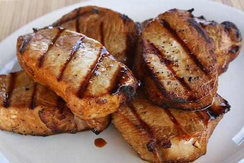 Grilled pork chops photo 1