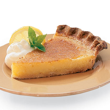 Lemon chess pie photo 2
