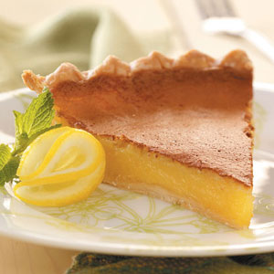 Lemon chess pie photo 3