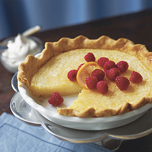 Lemon chess pie photo 1