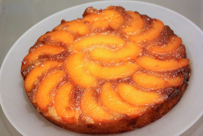 Peach Spice Cake Recipe
