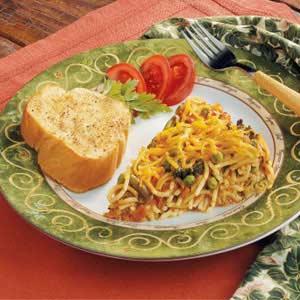 Spaghetti pie photo 2