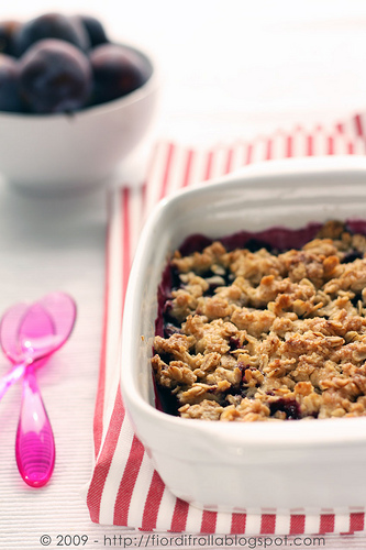 Plum berry crisp photo 3
