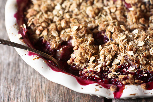 Plum berry crisp photo 2