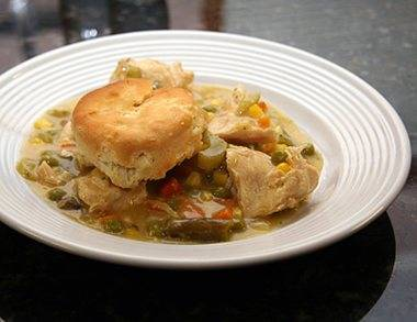 Chicken and biscuits photo 2