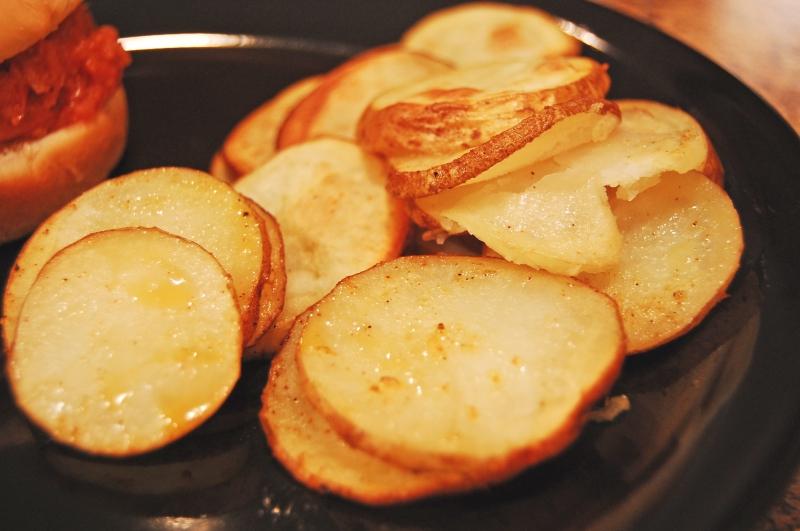 Oven fried potatoes photo 2