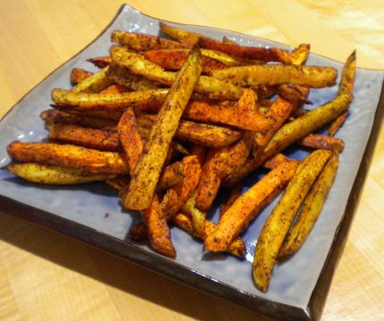 Oven fried potatoes photo 3