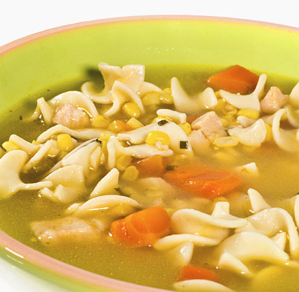 Chicken and noodles photo 1