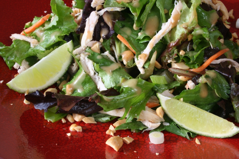 Chinese chicken salad photo 1