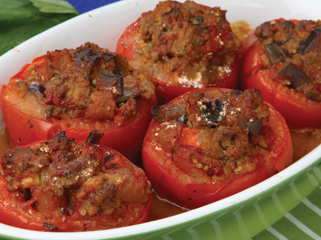 Baked tomato photo 2