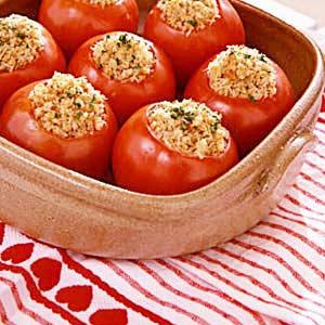 Baked tomato photo 1