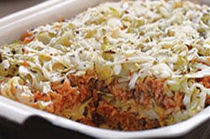Cabbage casserole photo 1