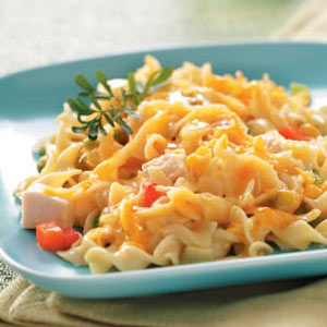 Chicken and noodle casserole photo 2