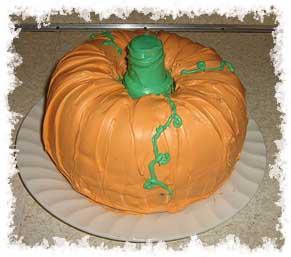Easy pumpkin cake photo 2