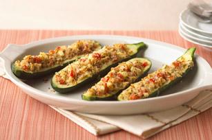 Stuffed zucchini photo 2