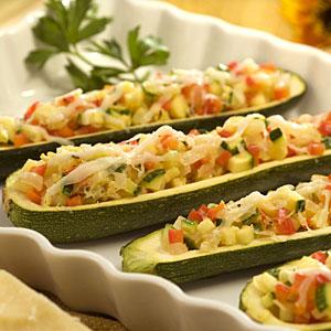Stuffed zucchini photo 3