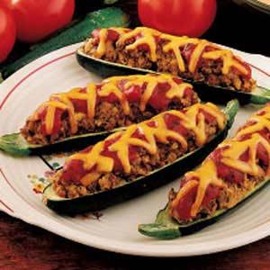 Stuffed zucchini photo 1