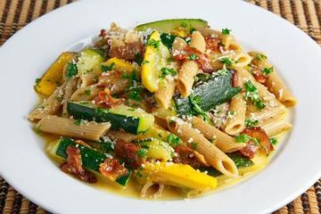 Zucchini and cheese casserole photo 2