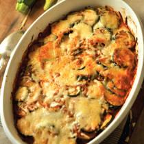 Zucchini and cheese casserole photo 3