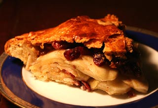 Cranberry pie photo 1