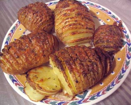 how to cook sliced potatoes
