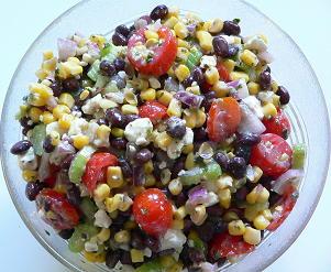Black bean salad photo 1