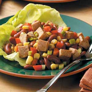 Pork and bean salad photo 1