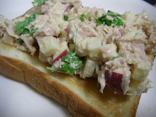 Tuna apple salad photo 1