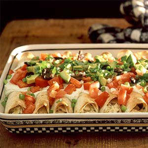 Chicken enchiladas photo 1