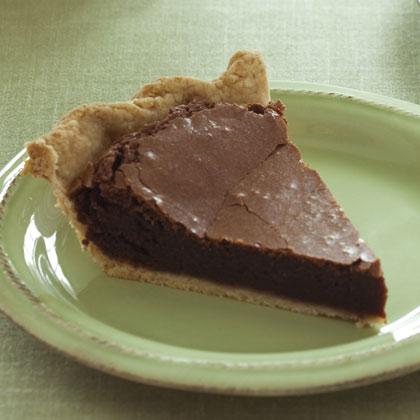Chocolate chess pie photo 1