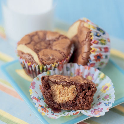 Peanut butter brownies photo 1