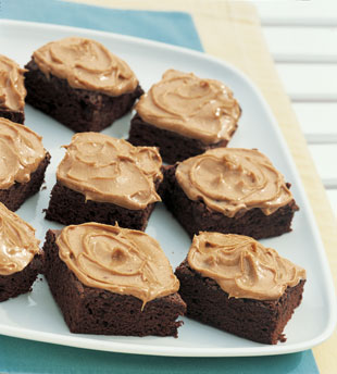 Peanut butter brownies photo 2