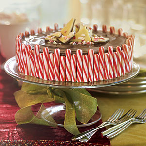 Chocolate-candy jumbo christmas cheesecake photo 2