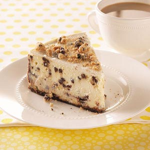 Chocolate chip cheese cake photo 3