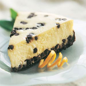 Chocolate chip cheese cake photo 1