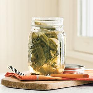 Pickled okra photo 1