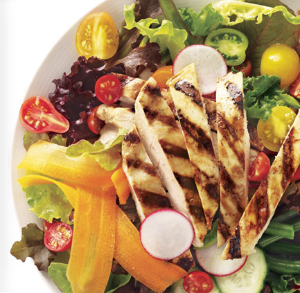Baked chicken salad photo 1