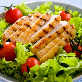 Baked chicken salad photo 3