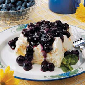 Blueberry angel dessert photo 1