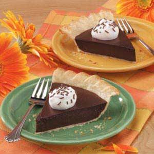 Chocolate pie photo 3