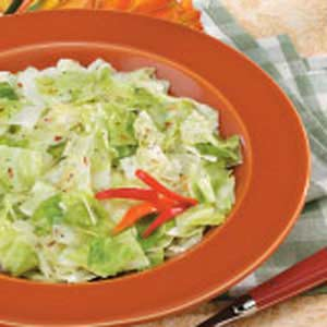 Fried cabbage photo 1