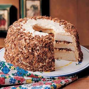 Layered toffee cake photo 1