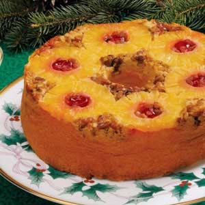 Pineapple upside down cake photo 1