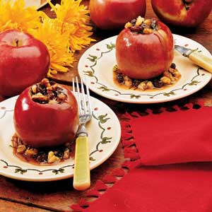 Spiced baked apples photo 1
