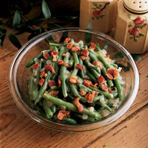 Sweet and sour green beans photo 2
