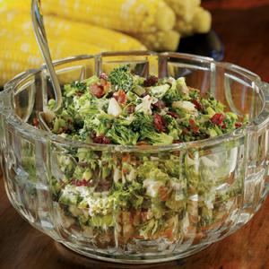 Broccoli and bacon salad photo 1