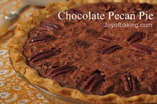 Chocolate pecan pie photo 3