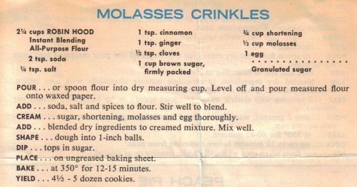 Molasses crinkles photo 1