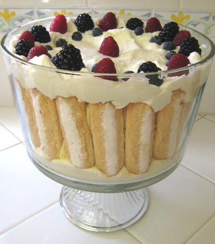 English trifle photo 2